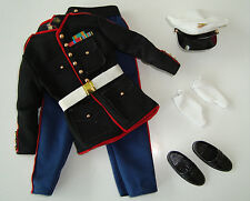 KEN Doll Clothes/Fashions Military Marine Uniform Complete Set NEW!