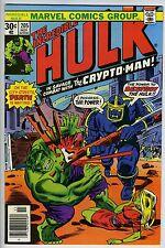 INCREDIBLE HULK #205 - Hulk vs Crypto-Man