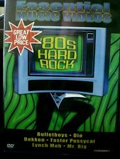 Essential Music Videos - 80s Hard Rock (DVD, 2003) WORLD SHIP AVAIL
