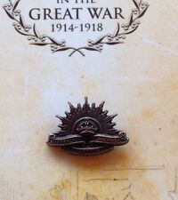 The Great War 3rd 1904 Rising Sun Lapel Pin on Card* NEW ANZAC Day 2015