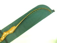 Traditional Archery UNSTRUNG RECURVE BOW CASE Forest Green / Charcoal Gray  60""
