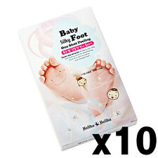 [Holika Holika] Baby Silky Foot One Shot Peeling 20ml*2ea(one use) x10