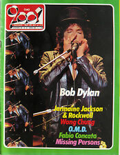 CIAO 2001 22 1984 Bob Dylan OMD Wang Chung Springfield Rockwell Missing Persons