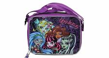 Monster High Insulated Lunch Bag - School Lunch Box for Kids girls - NWT US SHIP