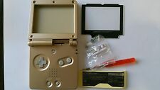 BE-HOUSING GAMEBOY ADVANCE SP GOLD NEW