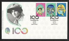 2016 MALAYSIA FDC - 100 YEARS GIRL GUIDES ASSOCIATION MALAYSIA (SODA)