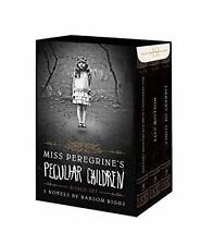 Miss Peregrine's Peculiar Children Boxed Set by Ransom Riggs Hardcover   NEW AU