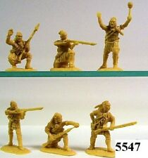 Armies In Plastic 5547  French & Indian  N/E Indians Plastic Figures Model Kit