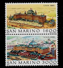 SAN MARINO   SCOTT# 1166-1167  MNH   FILACEPT '88 HOLLAND