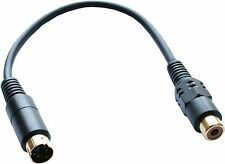 S-Video Cable Male to RCA Female Adapter for PC TV #4
