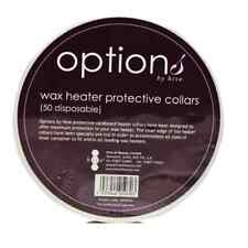 Options by Hive, Wax Heater Cardboard Protective Collars 50 Disposable in a Pack