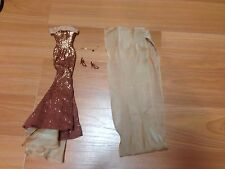 2002 Collector Ed. BARBIE Birthstone NOVEMBER TOPAZ Dress
