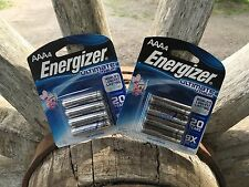2 x 4 AAA Energizer Ultimate Lithium Batteries. Exp Date 2034+