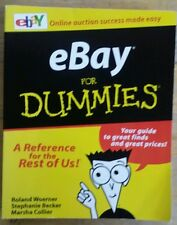 EBAY FOR DUMMIES BY WOERNER BECKER & COLLIER 1999 PAPERBACK