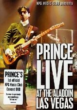 PRINCE 'LIVE AT THE ALADDIN-LAS VEGAS' DVD NEW+!!!!!