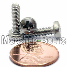M3.5 x 12mm - Qty 10 - Stainless Steel Phillips Pan Head Mach. Screws DIN 7985 A