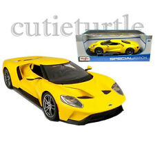 Maisto 2017 Ford GT 1:18 Diecast Model Car 31384 Yellow