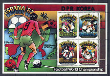 s5629) KOREA 1982 MNH** World Cup Football-Campionato Mondiale Calcio S/S