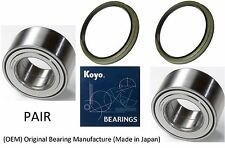 2001-2007 Toyota Sequoia 2WD Front Wheel Hub Bearing & Seal (OEM) KOYO (PAIR)