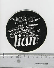 Decal/Sticker - Bar Discotheek Lian Bergeijk