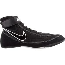 Nike  366683 001 Black White  Speed Sweep VII Wrestling Shoes size 10