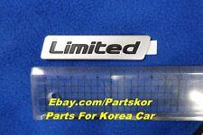2015+ HYUNDAI SONATA i45 Limited Emblem rear trunk Genuine Part OEM