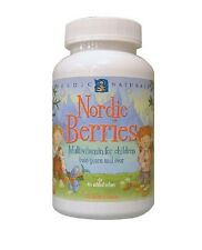 Nordic Berries, Multivitamin Treats, 120 Gummy Berries - Nordic Naturals