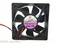 BI-SONIC BP802524HL-03 24V 0.25A 80x80x25mm 2 Wire Chassis Cooling Fan