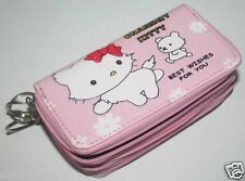 Hello Kitty Leather Purse(Charm My Kitty Pink)
