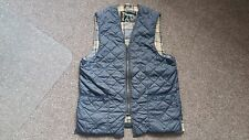 BARBOUR Mens Zip Quilted  Gilet, Size L
