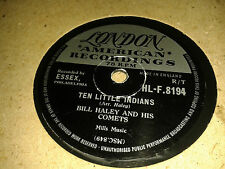 BILL HALEY & HIS COMETS : TEN LITTLE INDIANS / ROCKING CHAIR ON THE MOON.  78rpm