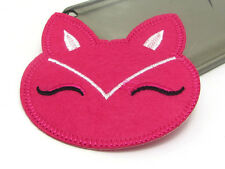 New Cute Cat Embroidered Applique Iron On Sew On Patch Cloth Rose