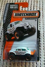 Matchbox Volkswagen beetle 4x4 mbx 2014 collection off road white Baja bug