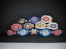 Custom WWE 12 x Title Belts Jakks/Mattel figures WWF WCW TNA  NEW Smackdown