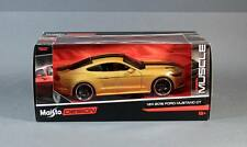 Maisto 31369-Gold 2015 Ford Mustang GT 1:24 Scale Diecast