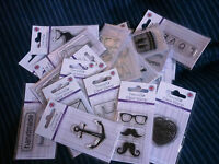 Dovecraft Polymer Clear Stamps - 30 Designs To Choose From