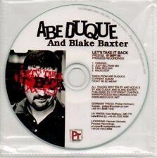 (AP365) Abe Duque & Blake Baxter, Lets Take It B- DJ CD