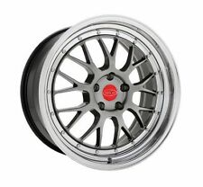 "18"" Privat Akzent Mesh Gunmetal Wheels 5x112 Audi A4 A6 Mercedes Benz"