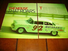 1955 CHEVROLET SMOKEY YUNICK RACE CAR GM TRIBUTE ***ORIGINAL 2006 ARTICLE***