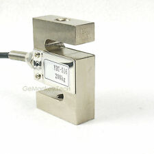 S TYPE Beam Load Cell Scale Sensor Weighting Sensor 200kg/440lb & Cable Weight
