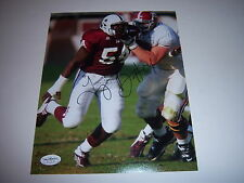 TITUS BROWN MISSISSIPPI STATE BULLDOGS JSA/HOLO SIGNED 8X10 PHOTO