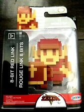 """World of Nintendo 86729 2.5"""" 8 Bit Red Link Action Figure RARE and HTF"""