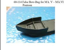 MGM 60-114 1/76 and 1/72 Resin WWII False Bow for MkV and Mk.VI Pontoons