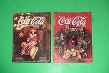 "vintage COCA COLA ""THE COCA COLA CATALOG"". featuring signs, Christmas, toys, car"