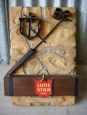 Lone Star Beer Sign Branding Iron RARE Vintage