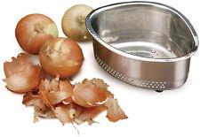 RSVP In-Sink Corner Compost/Scrap Basket Colander 18/8 Stainless Steel Kitchen