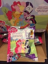 *New* My Little Pony Metallic Mini Figures W/Stand  SPECIAL EDITION GOLD