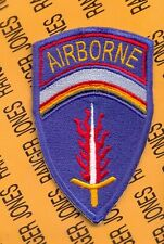 US Army Europe USAEUR AIRBORNE Command  shoulder patch