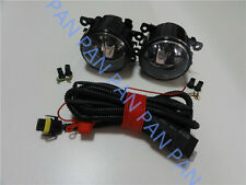 Pair Front Fog Driving Lamp Light Lamps wiring harness For Peugeot 207 307 408
