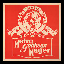"1930's Metro-Goldwyn-Mayer MOVIE POSTER SIGN ☆ ""More stars than in the heavens!"""